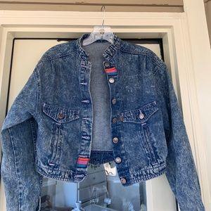 Vintage Levi's stonewashed denim jacket